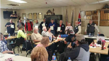 Utz Camp Certificates of Appreciation 2015