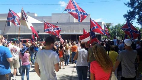 Confederate Flag Rallies 2015-6-Flordia