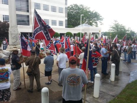 Confederate Flag Rallies 2015-7-North-Carolina